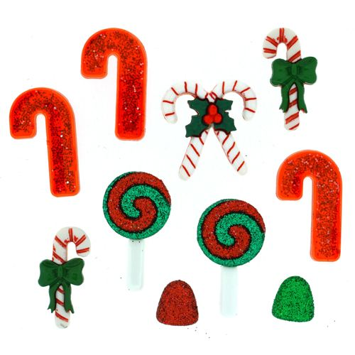 2466, Фигурки. Рождественские сладости Dress It Up