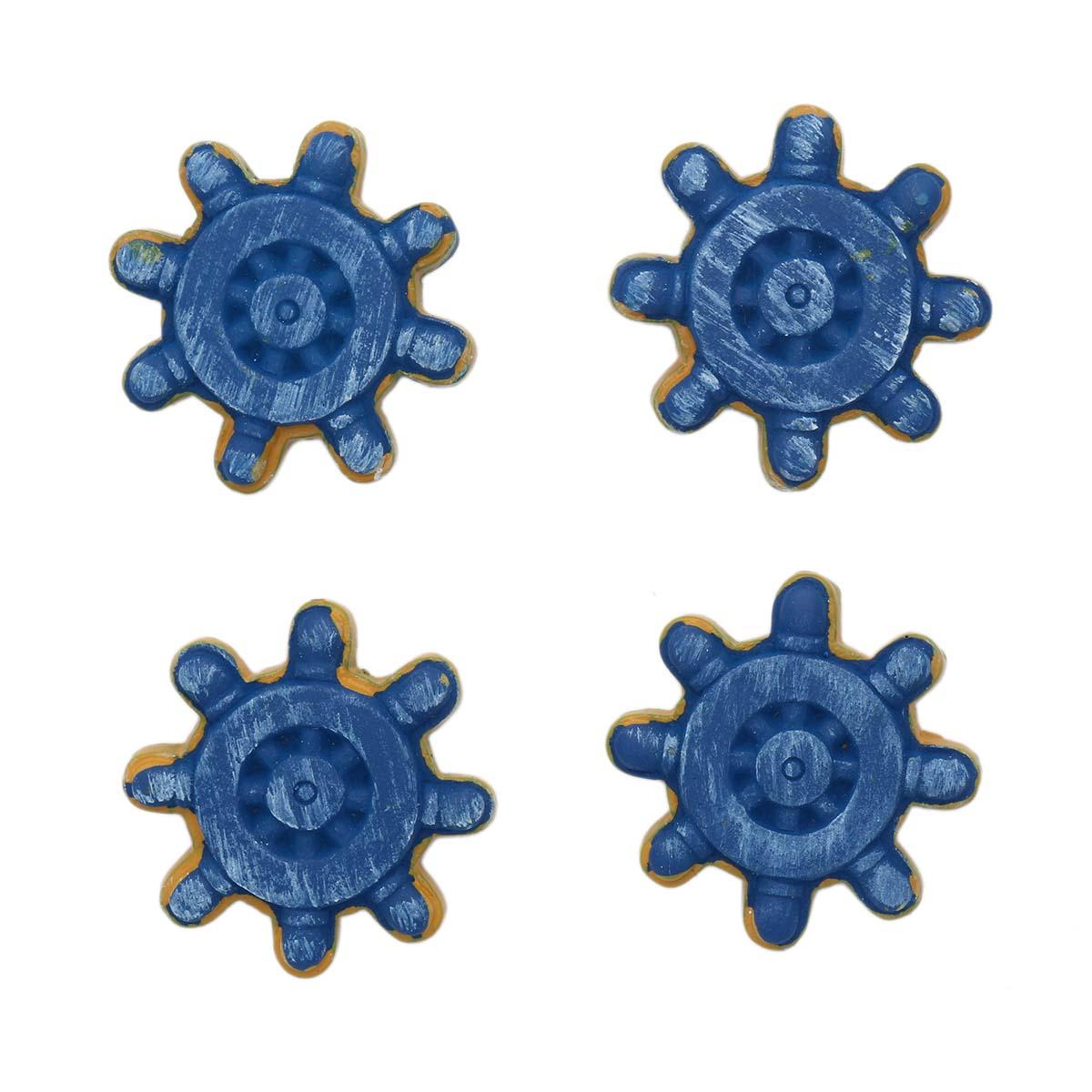 LR15 4590 Объемные фигурки 'Штурвал' (полимер),