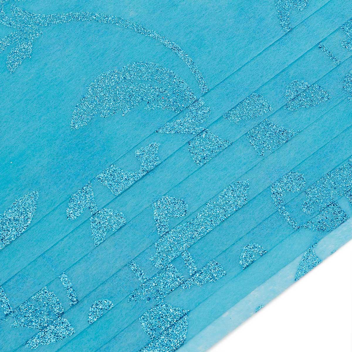 Декоративный нетканный материал для упаковки, рукоделия, флористики A4, 25 гр., 10шт. GN57-30