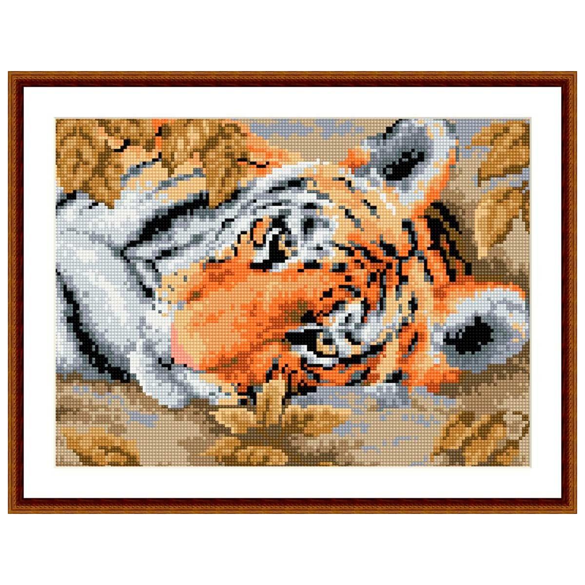 EZ016 Мозаика на деревянной основе 'Малыш', 30*40 см