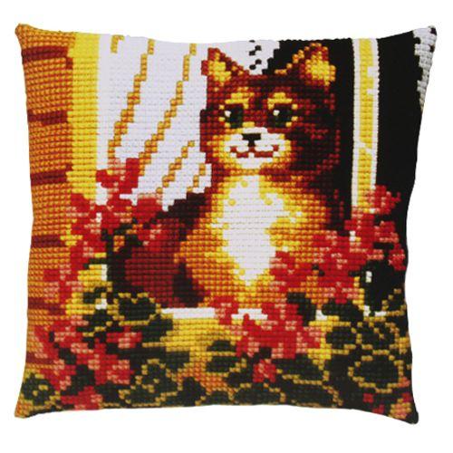 003.188 Подушка Pako 'Рыжий котенок', 40х40 см