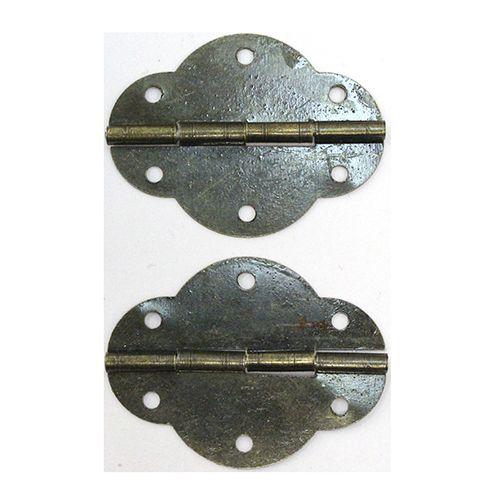 Петля для шкатулок 46*35 мм, 2шт бронза