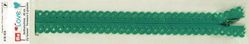 418406 Застежка-молния декоративная Prym Love S11 40cм, сине-зеленый цв. 1шт Prym