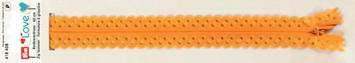 418408 Застежка-молния декоративная Prym Love S11 40cм, желтый цв. 1шт Prym