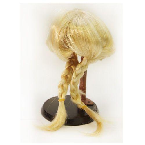 Волосы для кукол (косички длинные) d10 см