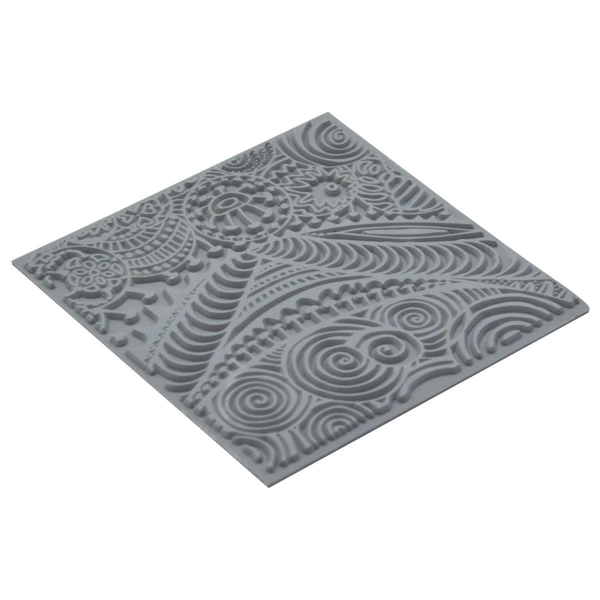 CE95001 Текстура для пластики резиновая 'Фристайл', 9х9 см. Cernit