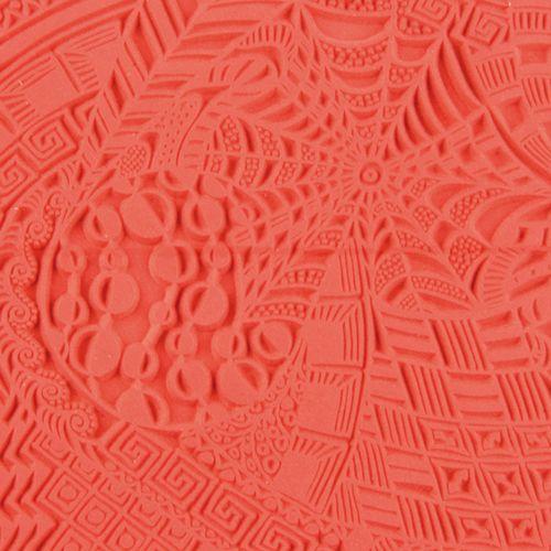 CE95009 Текстура для пластики резиновая 'Сны', 9х9 см. Cernit