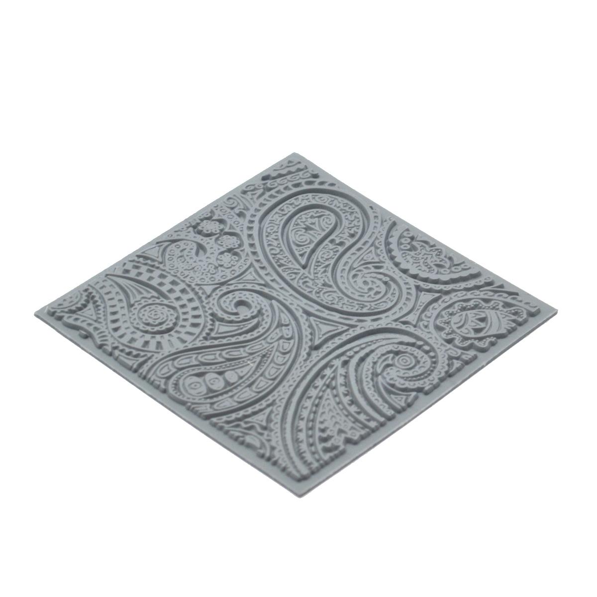 CE95010 Текстура для пластики резиновая 'Турецкий огурец', 9х9 см. Cernit