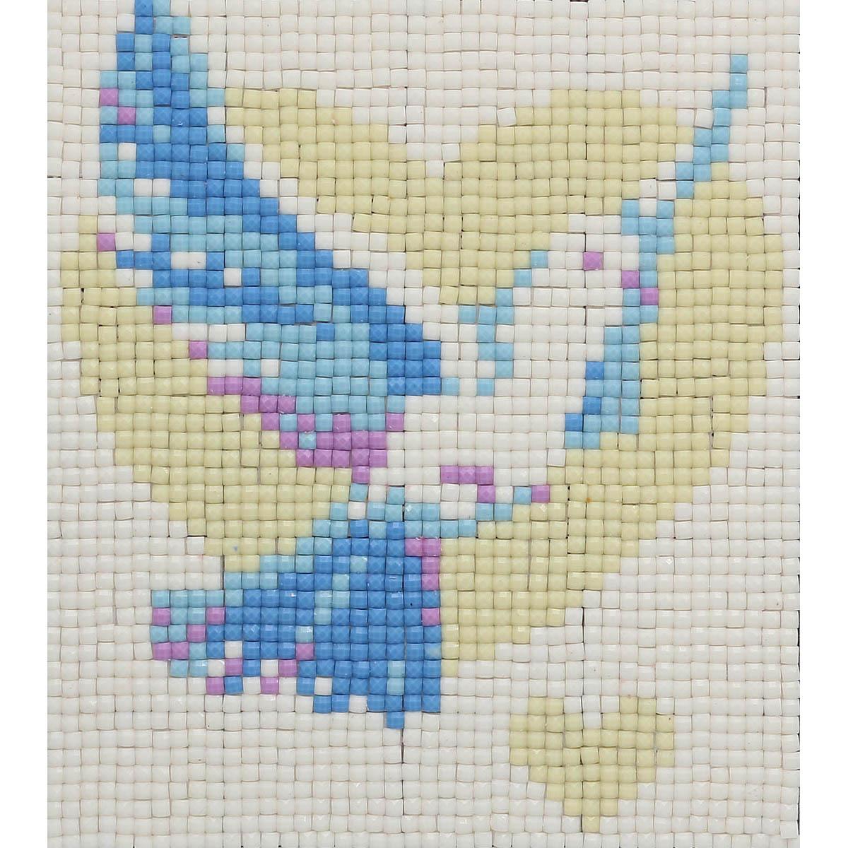 7052 Мозаика Cristal 'Голубь', 13*15 см
