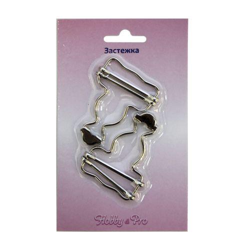 0320-2169 Петля для комбинезона, никель, 34 мм, упак./2 шт., Hobby&Pro