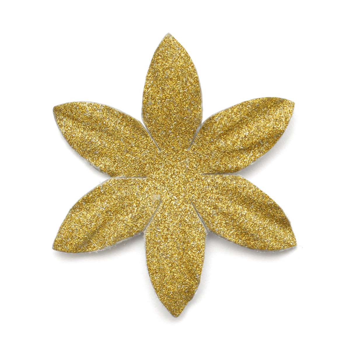 YX15-119 Бумажные лепестки с блестками 'Ромашка', d 4,5 см, упак./8 шт.
