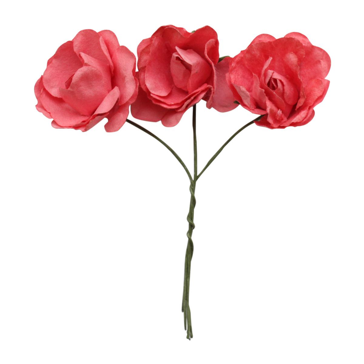 MH3-2188 Набор декоративных цветов D=3*1,5см, 12шт, Астра