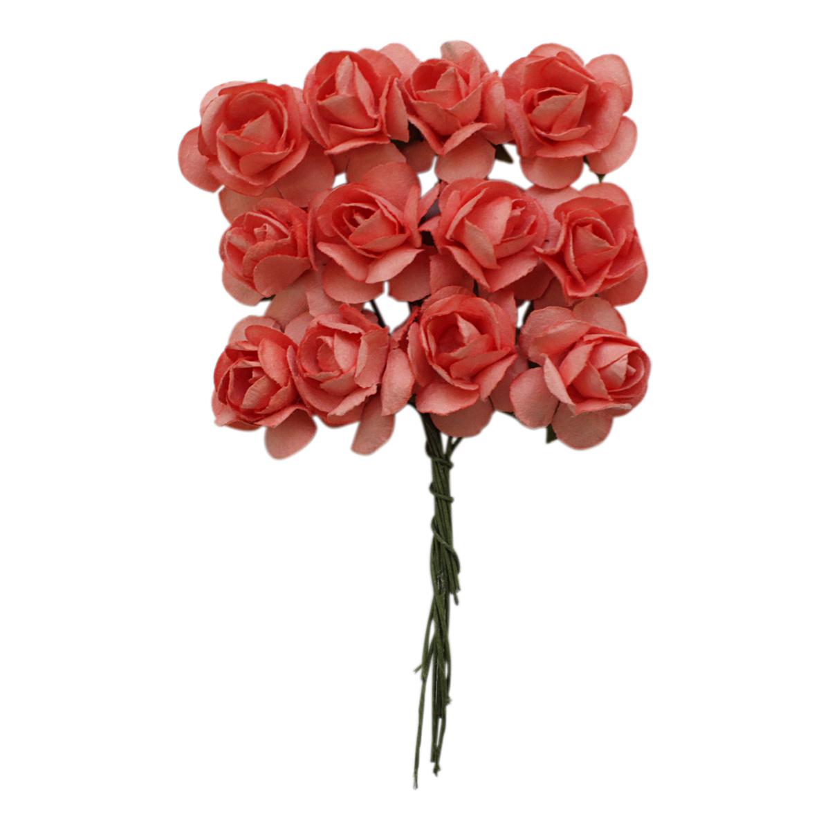 MH1-T010 Набор декоративных цветов D=2*2см, 24шт, Астра