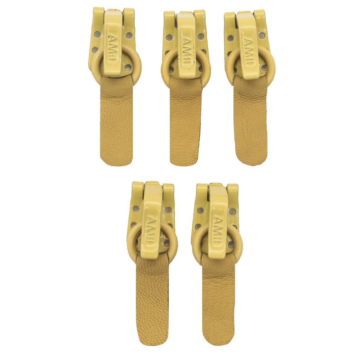 88-001 Крючок шубный Ammi 5 шт/упак (1001 светло-бежевый)