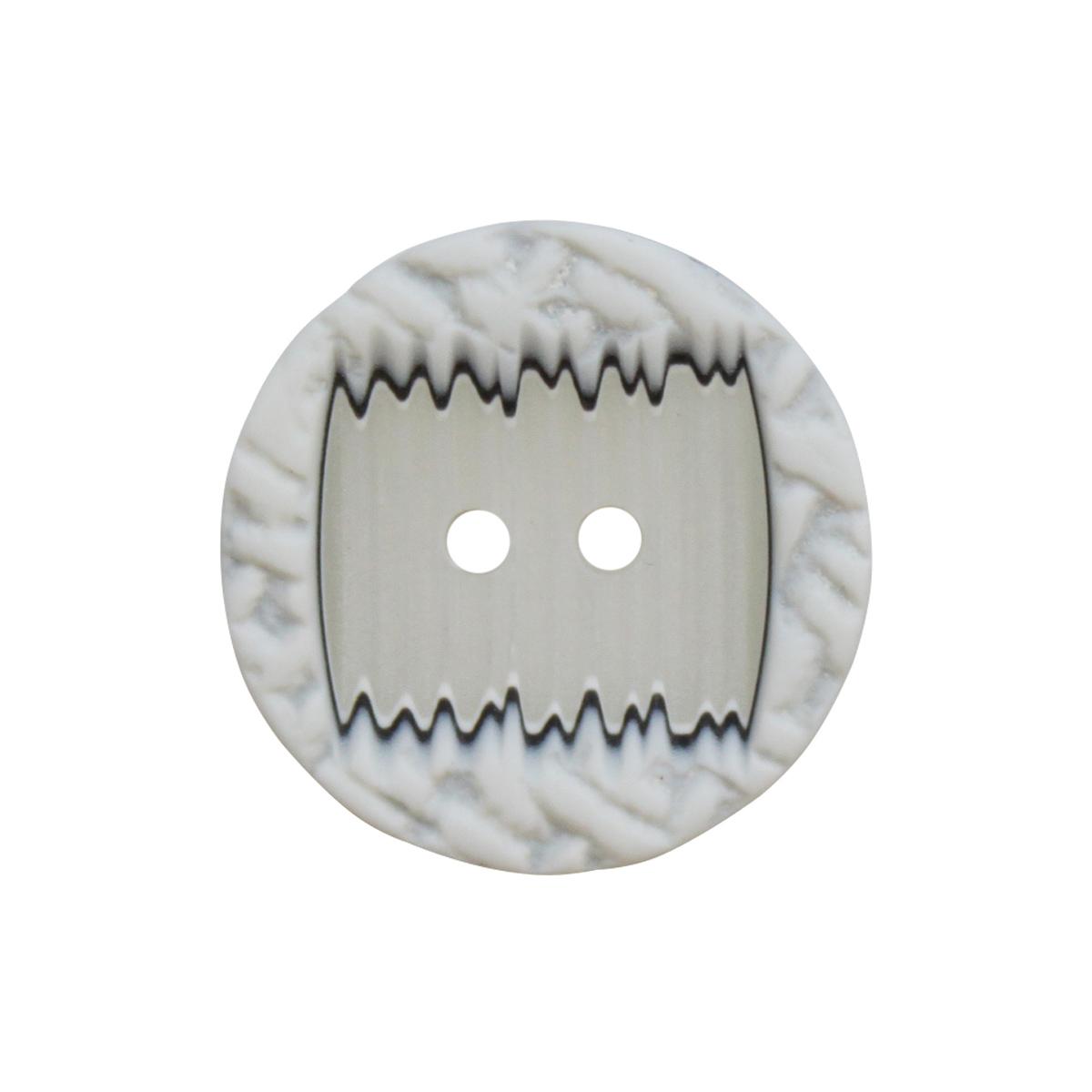 8690 Пуговица на прокол, 40L (белый)