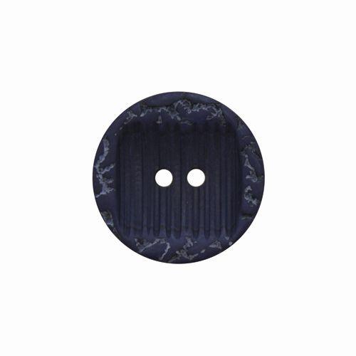 8690 Пуговица на прокол, 40L (темно синий)