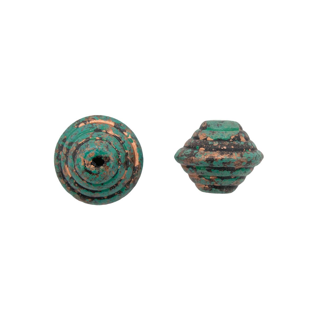 3623 Бусины декоративные, 14*10.5 мм, упак./2 шт., 'Астра'