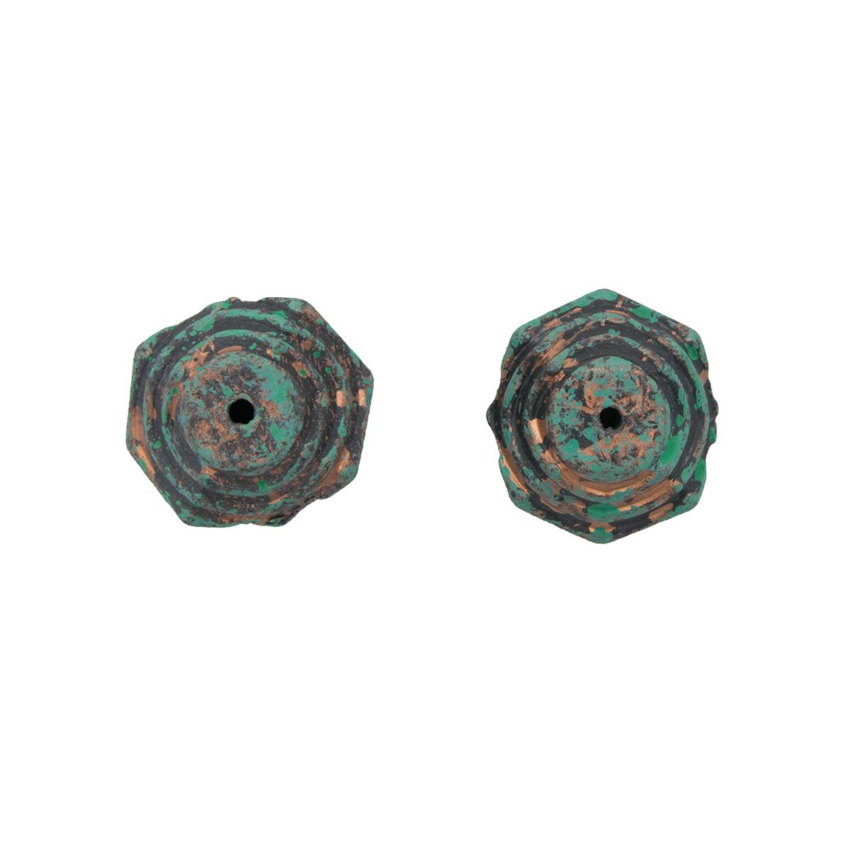 5917 Бусины декоративные, 21*24*12 мм, упак./2 шт., 'Астра'