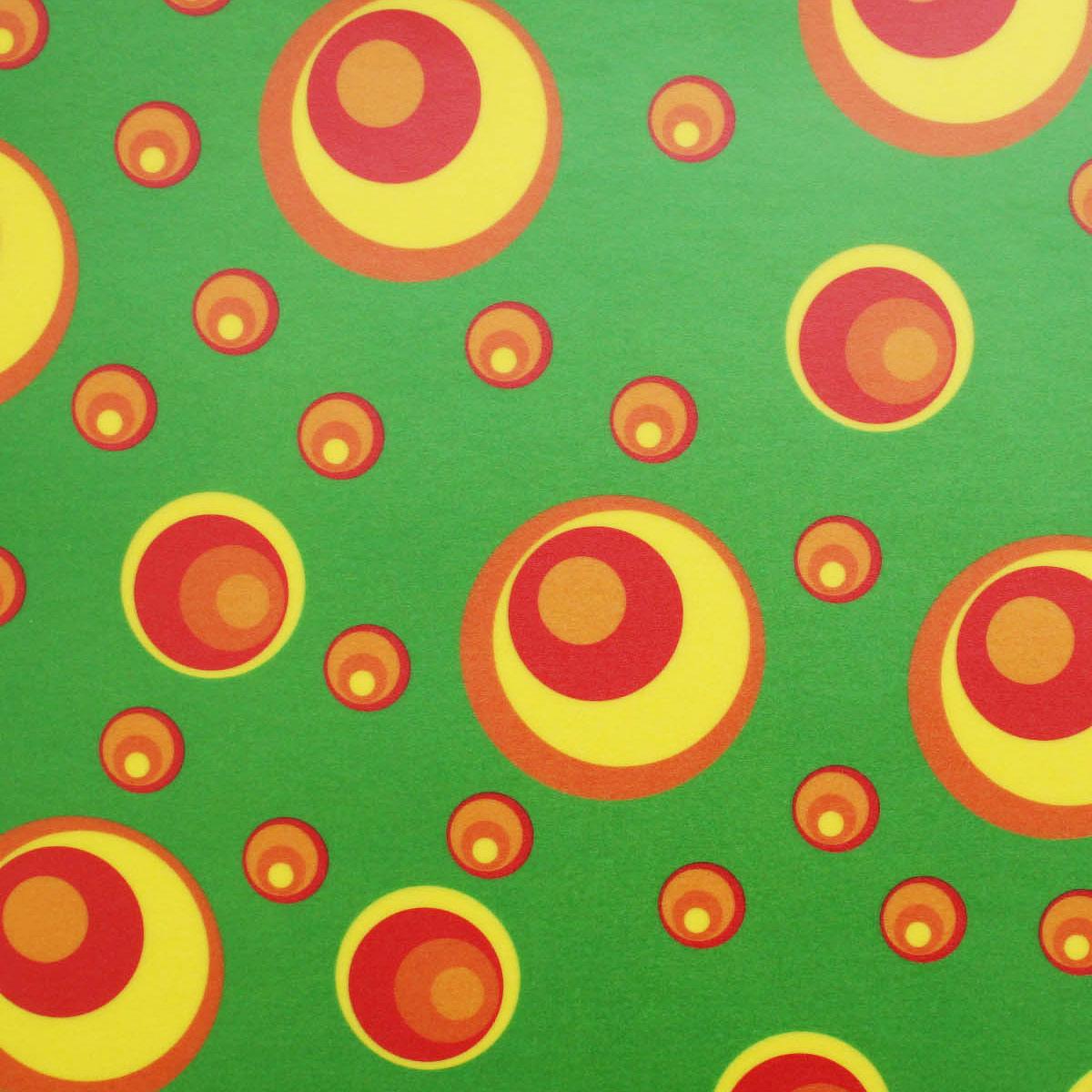 85005 Транспарентная бумага 'Круги', 115 г/м², 50,5*70 см, упак./10 листов, Folia