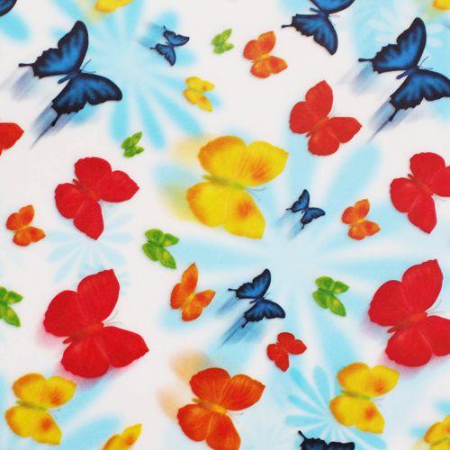 81004 Транспарентная бумага 'Бабочки', 115г/м?, 50,5х70см, 10 листов Folia