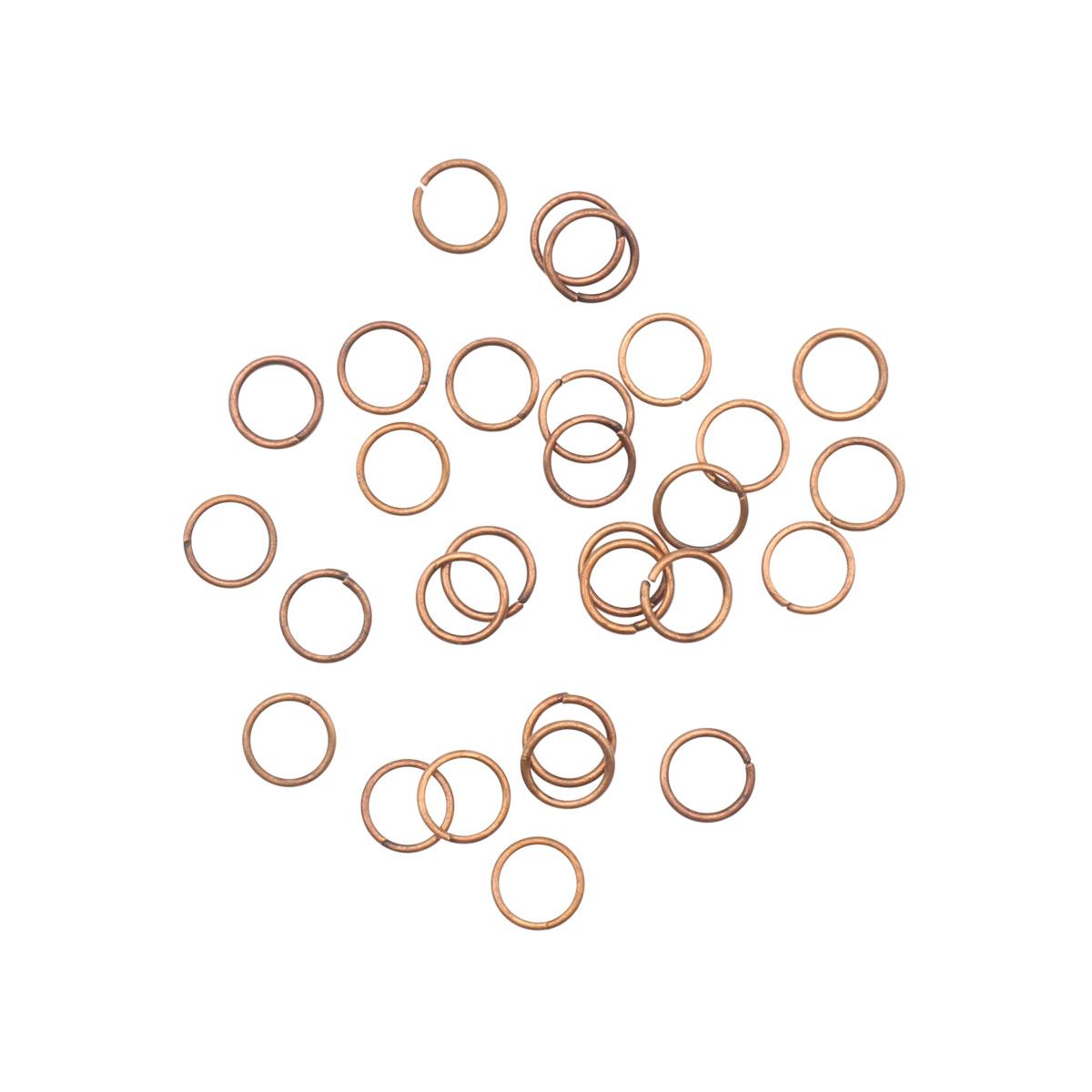 OTH1510 Кольцо для бус , 0,8*7мм, 30шт/уп