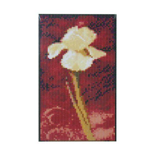 H0313 Мозаика 'Композиция 1' 15*27 см. (холст 18*30см), Cristal