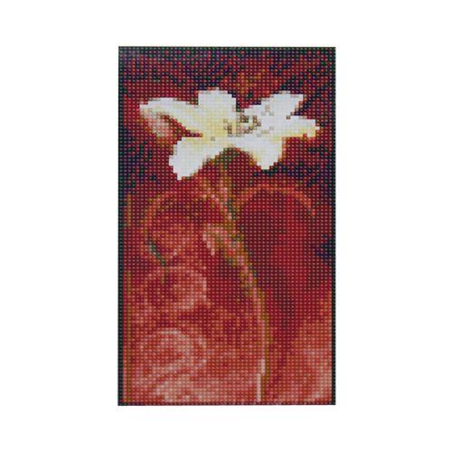 H0315 Мозаика 'Композиция 3' 15*27 см. (холст 18*30см), Cristal