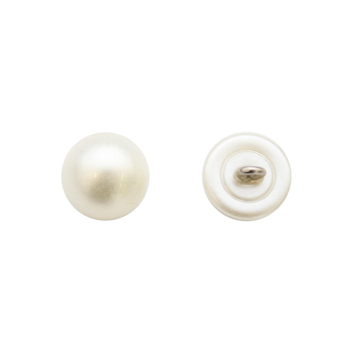 0317-0004А Пуговица-жемчужина 16L
