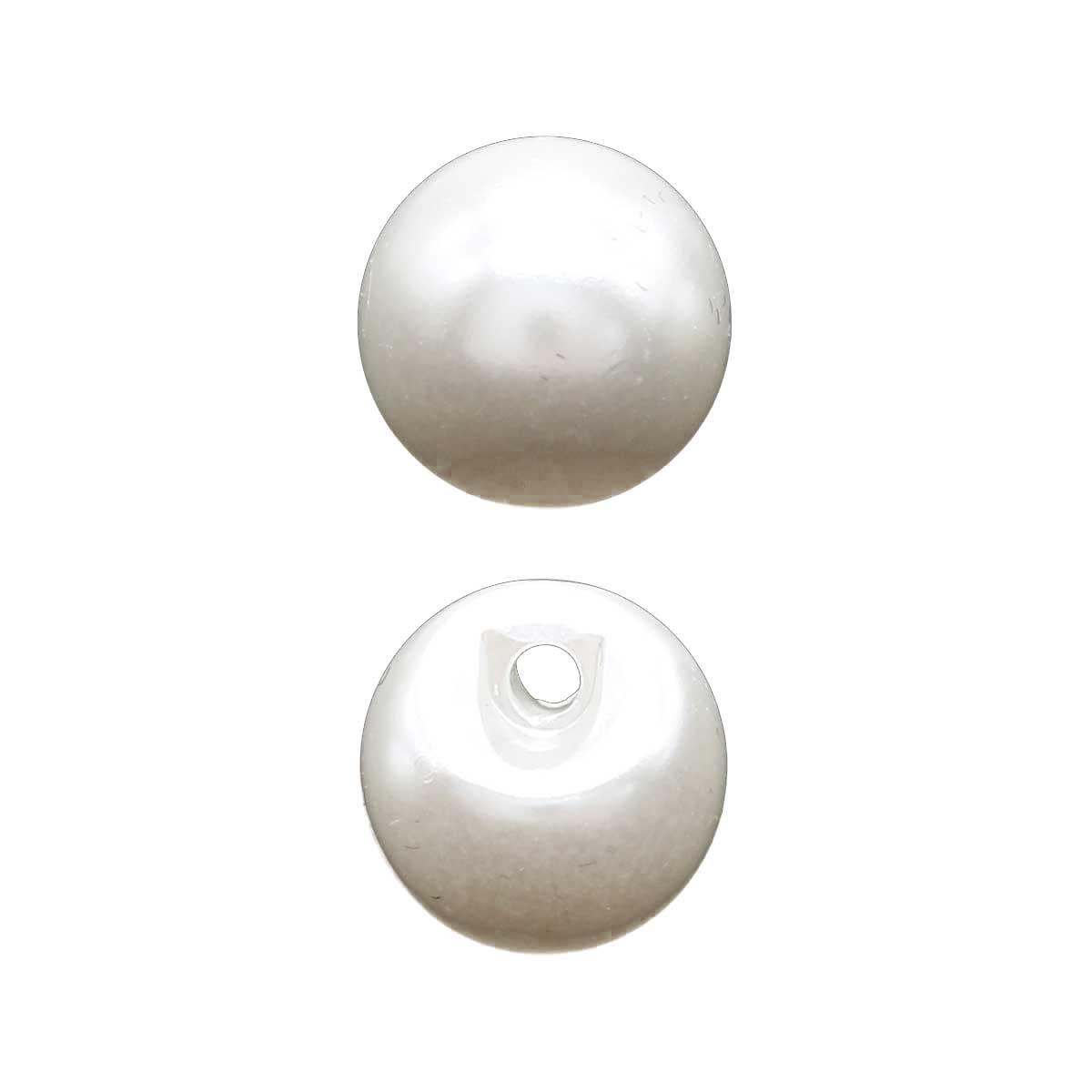 0317-0000 Пуговица-жемчужина 14L