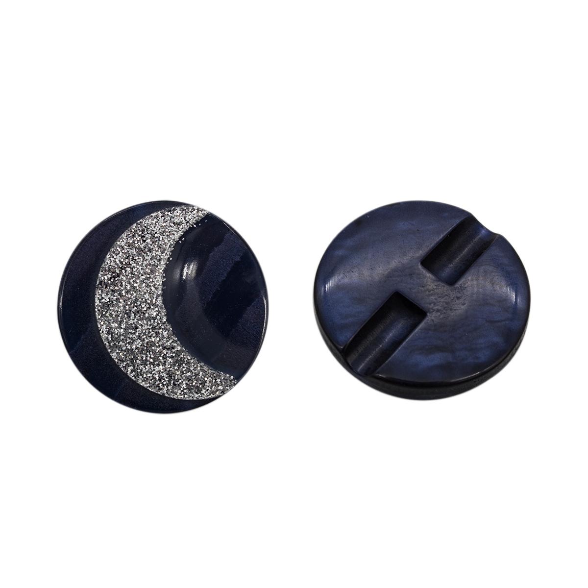 0311-1384А Пуговица 44L (C196 синий)