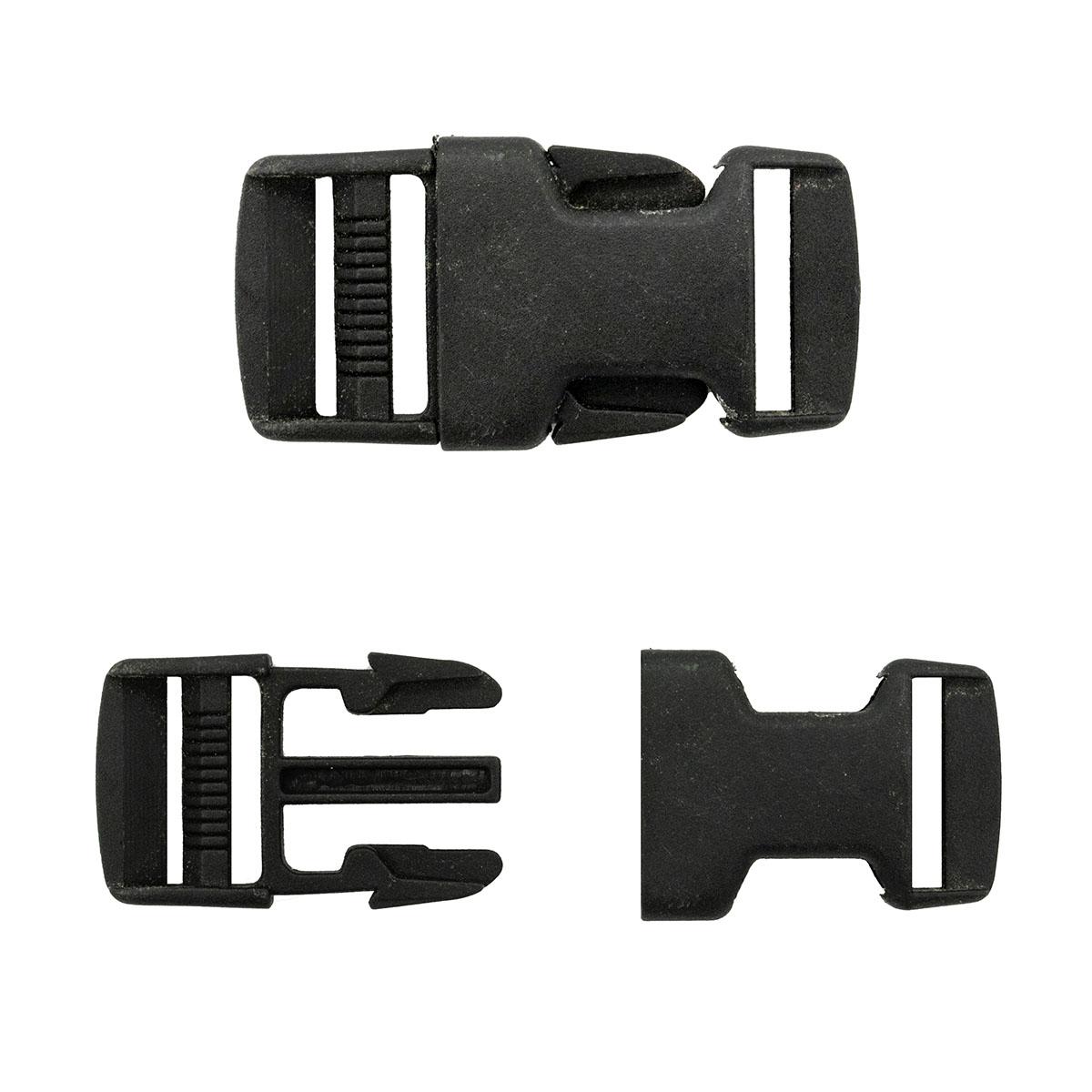 0323-0040 Фастекс, черный, 25 мм, Hobby&Pro