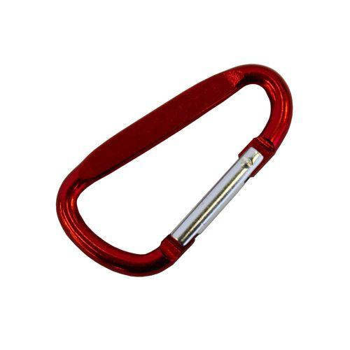 Карабин 2093-0104, 48*4,5мм (красный) фото