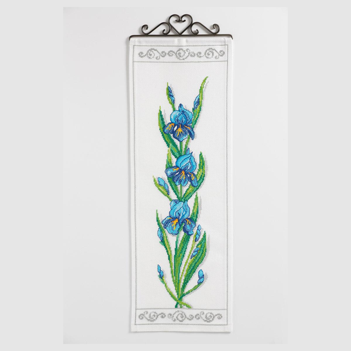 9240000-02313 Набор для вышивания Anchor 'Лилии' 20х59см