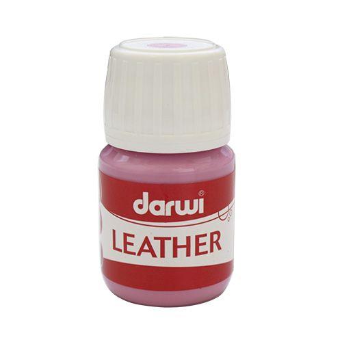 DA0420030 Краска LEATHER для кожи / кожзама, 30 мл Darwi (475 розовый) фото