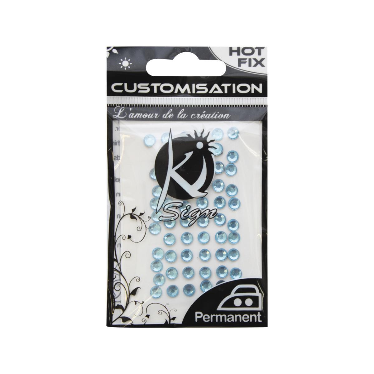 KS-C-STRASS-5 Термоклеевые стразы стеклянные 5мм, 60шт Ki Sign