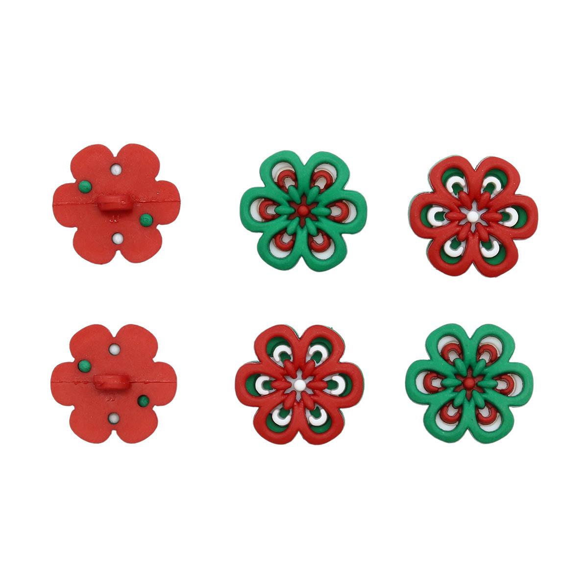 8983, Фигурки. Рождественские цветы Dress It Up