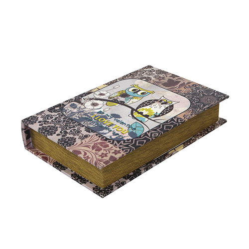 YQ16207 Шкатулка декоративная 'Совы', 26*17*4.7