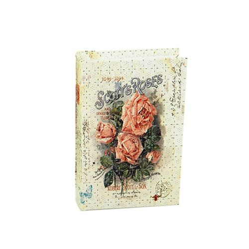 YQ16211 Шкатулка декоративная 'Чайные розы', 30.5*21*6