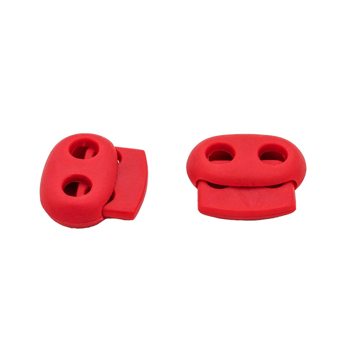 0305-3131 Стопор плоский 2отв. d=4,5мм, 20*18мм, 4шт, пластик Hobby&Pro