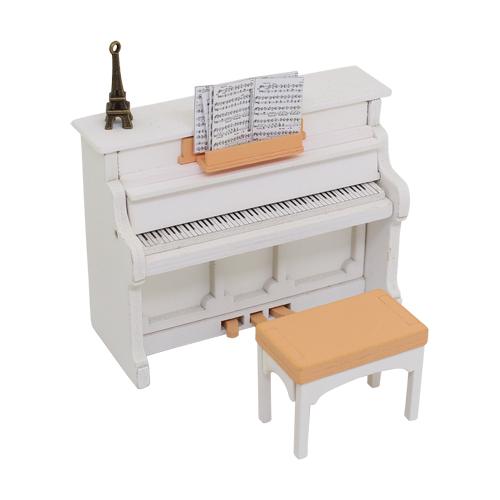 1181001 Набор для изготовления миниатюры:пианино 7*9,2*4см и стул 3*4*2,4см