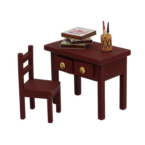 1181002 Набор для изготовления миниатюры:стол 4,6*5,5*3,3см и стул 5,2*2,4*2,2см