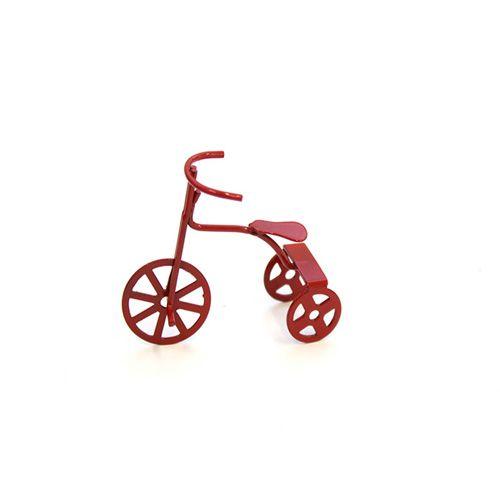 FM006 Миниатюра Трехколесный велосипед 4.8x1.8x4.3см, Астра