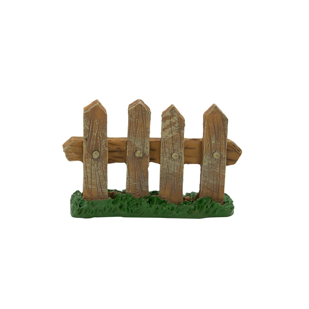 371248 Миниатюра Забор на траве 7*1*4,5см, Астра