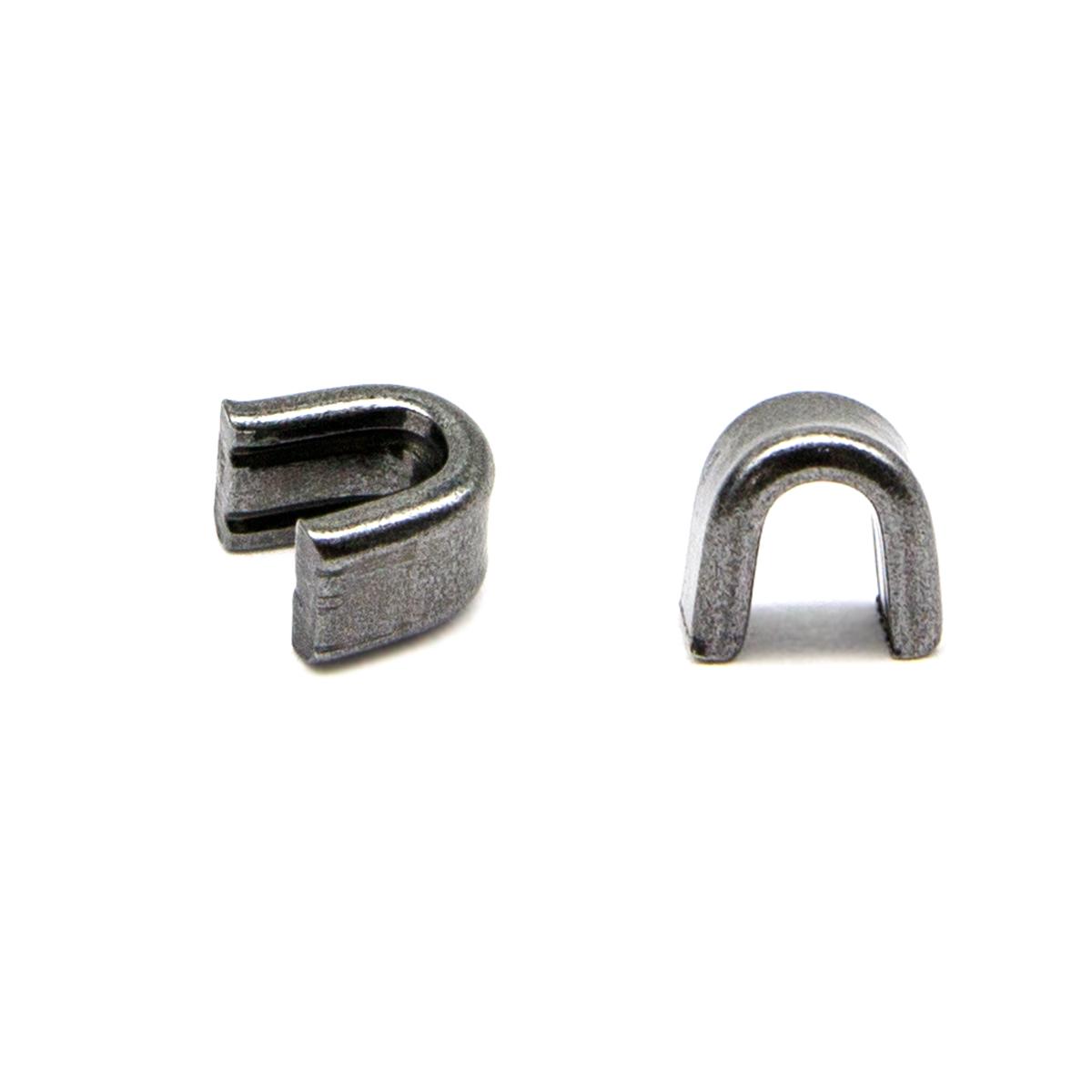 0298-0360 Ограничитель верхний для метал. молнии #8 (черный никель) фото