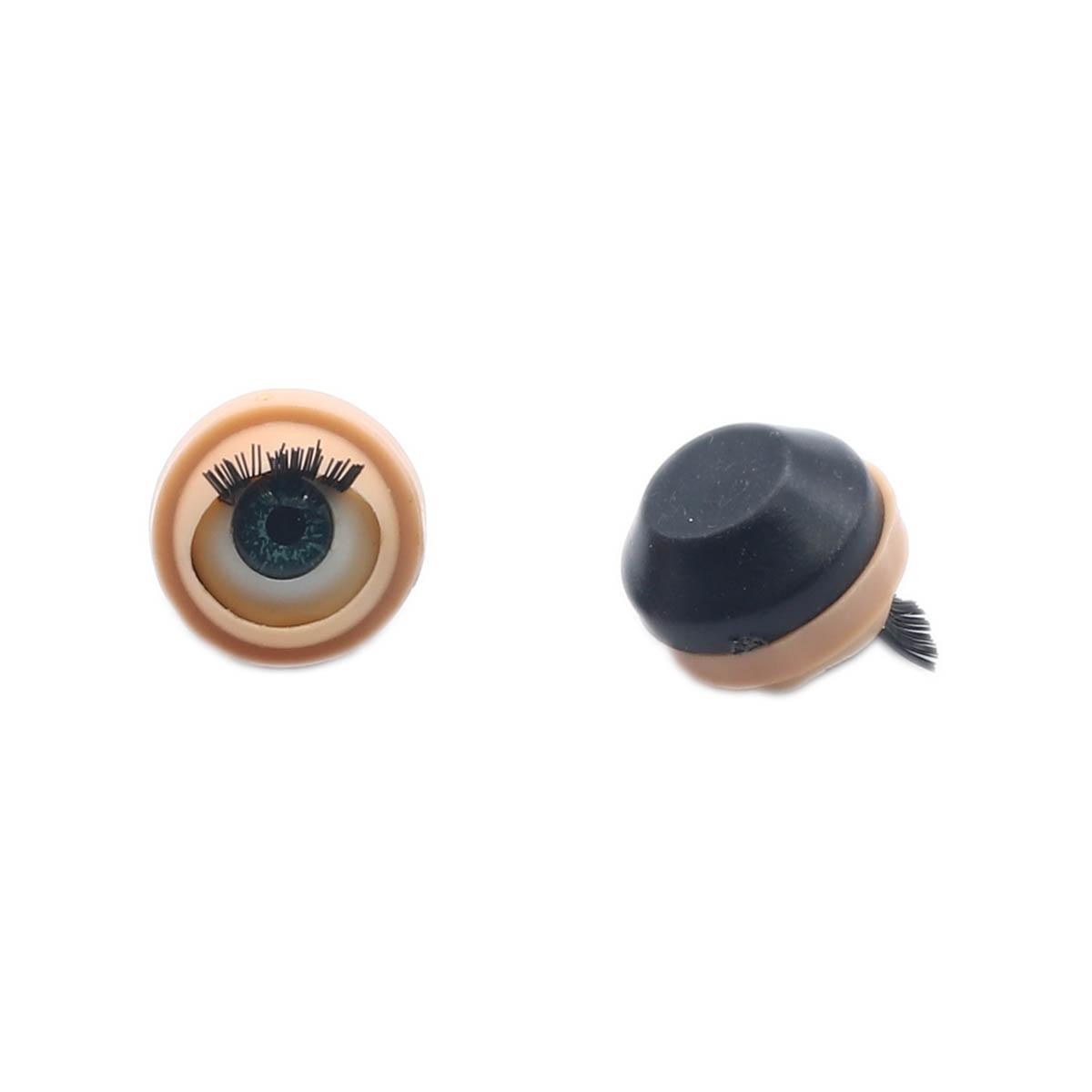 808# Глаза с ресничками, моргающие, 0,9см, 50 шт/упак