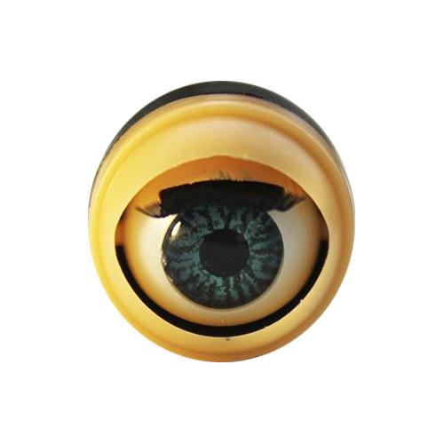 128# Глаза с ресничками, моргающие, 1,28см, 50 шт/упак
