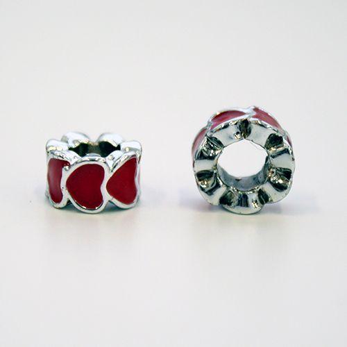 Декоративная подвеска 'Кольцо из сердечек', 3шт/упак