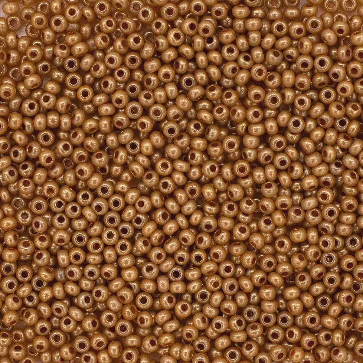 (17783) 331-19001-10/0 Бисер непрозрачный с покрытием 10/0, круг.отв., 20гр Preciosa