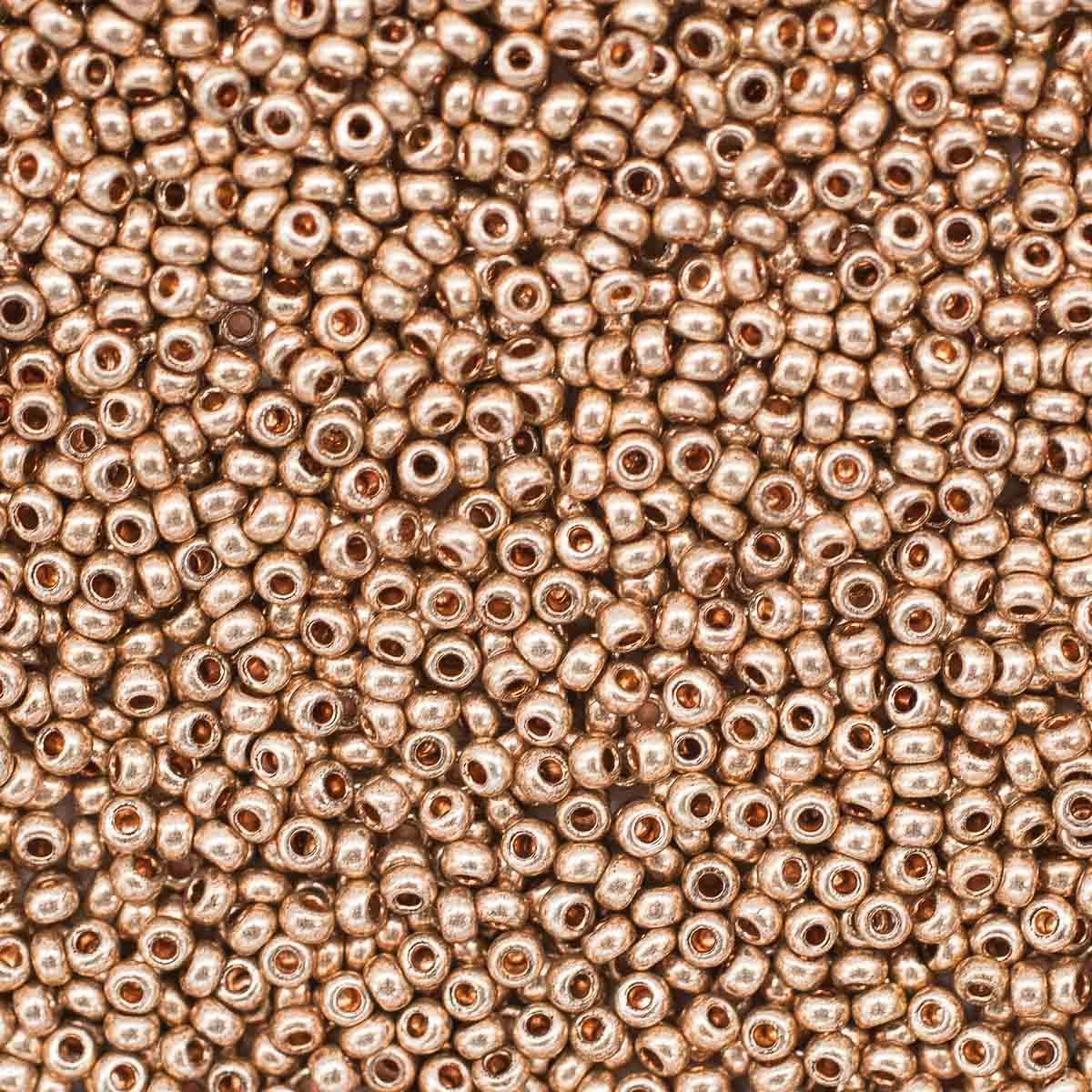 331-19001-10/0-18112 Бисер прозрачный solgel 10/0, круг. отв., 20 гр., Preciosa