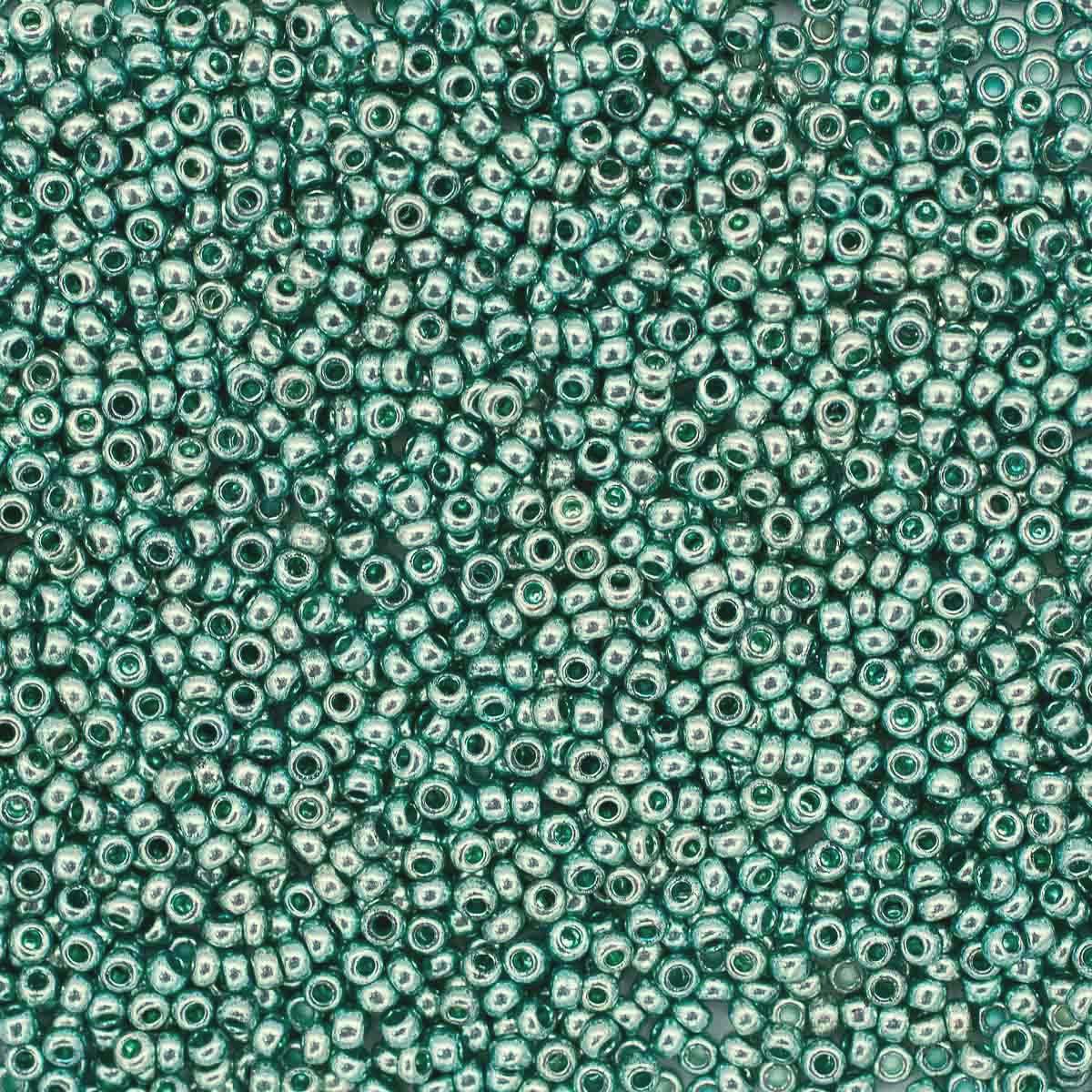 331-19001-10/0-18165 Бисер прозрачный solgel 10/0, круг.отв., 20гр Preciosa